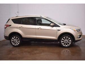 2017 Ford Escape TITANIUM 4X4 - BACKUP CAM * NAV * PANORAMA ROOF