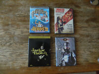 DVD Robocop, Revenge of the Nerds 1 & 2, Jackie Brown, Red State