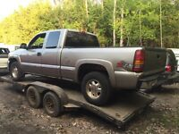 Parting out 2000 GMC SIERRA 1500 4X4