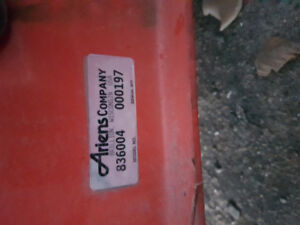 ARIENS SNOWBLOWER ATTACHMENT FOR LAWN TRACTOR $300