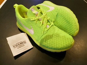 Nike Roche NM Flyknit - Volt Green - US Mens 11