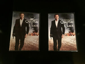 2 - Quantum of Solace DVD'S