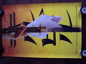 KILL BILL original movie theater poster