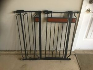 Regola Hardwood and  Steel Baby Gates in excellent condition