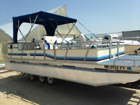 1991 Vibo 20ft pontoon