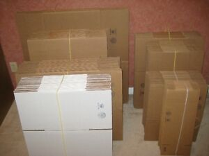 Boxes to help move or organize