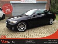 2008/58 BMW 325d 3.0TD Auto SE Coupe, 3mth Warranty, 12mth MOT