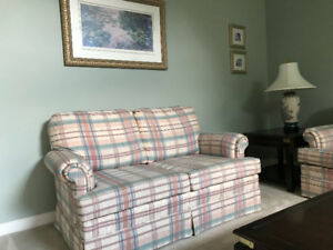 Sofa and love seat plus plus plus