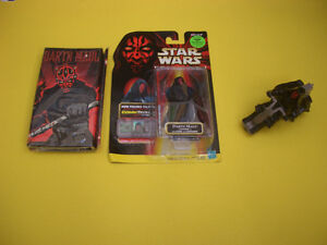 STAR WARS EPISODE 1 DARTH MAUL FIGURE, NOTEBOOK, APPLAUSE London Ontario image 1