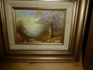 """Landscapes - Framed 10 x 20"""" Paintings Comox / Courtenay / Cumberland Comox Valley Area image 2"""