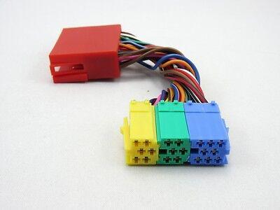 20-PIN Verteiler Adapter Kabel Mini ISO passend für VW NAVI Plus MFD MCD Stecker