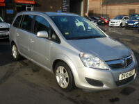 Vauxhall Zafira 1.6 16v Exclusiv - 1 Year MOT, Warranty & AA Cover included