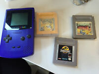 Gameboy Color + Pokemon Yellow + 2 jeux
