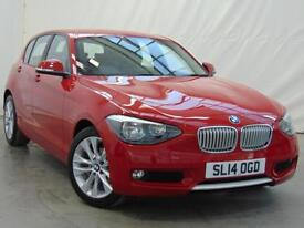 2014 BMW 1 Series 116I URBAN Petrol red Manual