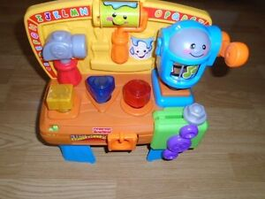 Fisher Price Laugh and Learn Workbench