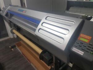 Imprimante/coupeuse Roland SC545EX Printer plotter + inventaire