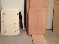 Stripping kitchen cabinets or furniture