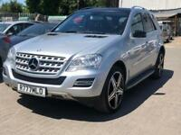 2010 Mercedes-Benz M Class 3.0 ML350 CDI BlueEFFICIENCY Sport 5dr