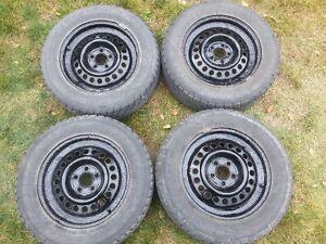 pneus et roues d'hiver 195/65/R15