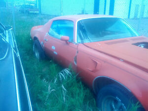 1974 TRANS AM PROJECT CAR 455 AUTO RED