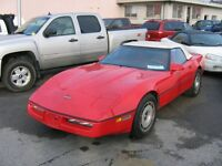 1986 Chevrolet Corvette Convertible Indy 500 Pace Car Edition