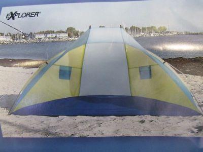 Strandmuschel UV 80+ Sonnenschutz automatik Zelt POP UP Camping Strand