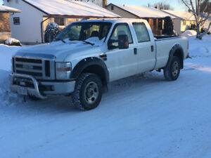2008 Ford F-350 diesel crew long box pickup Truck