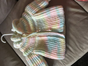 Hand made sweater size 1-2T