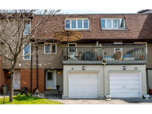 Spacious 3  bed townhouse close to carleton u - May 2019 All in