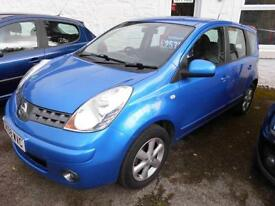 2008 NISSAN NOTE ACENTA 1.4 PETROL MANUAL MPV IN BLUE