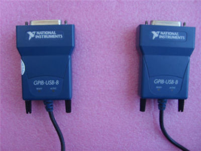 1pcs National Instruments Ni Gpib-usb-b Interface Adapter Tested