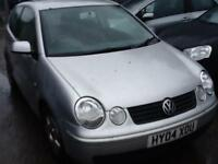 Volkswagen Polo 1.4 2004MY SPARES OR REPAIR