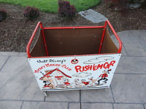 Vintage 1950's Mickey Mouse Club Push' Em Car In excellent Shape Kitchener / Waterloo Kitchener Area image 4