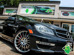 150 SALE!!!! '12 Mercedes C63 AMG+NAV+Leather+Roof! $257/Pmts!