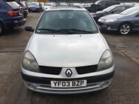 RENAULT CLIO DCI DIESEL GREAT RUNNER £30 TAX YEARLY