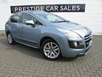 2012 Peugeot 3008 2.0 e-HDi Hybrid4 4X4 5dr DIESEL/ELECTRIC blue Automatic