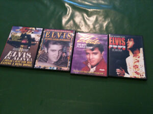 elvis 4 dvds  gift for a excellent price Kitchener / Waterloo Kitchener Area image 1