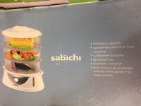 SABICHI 3 tier food STEAMER