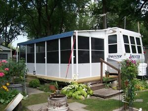 Aluminum structured Add-A-Room for Roll-Up Awnings Windsor Region Ontario image 4