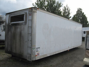26′ cargo box for storage (insulated)