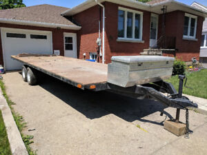 7.5'x20.5' DECK OVER TRAILER