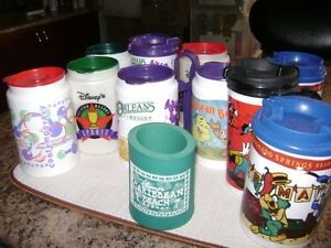 Colorful Disney Resort Mugs