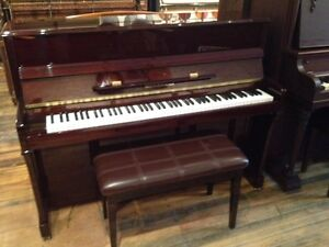 Steigerman Studio Piano and bench