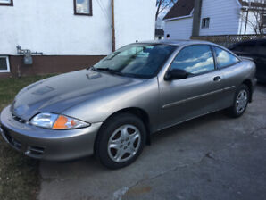2002 Chevy Cavalier , Low Kilometers, not driven in the winter
