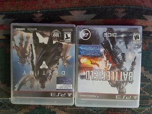 Bf4 and destiny PS3