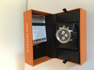 Stuhrling Original Watch, New Never Worn with box and all papers