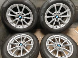16 inch 5x120 Genuine BMW 3 series F30 alloy wheels