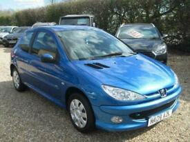 image for 2008 08 PEUGEOT 206 1.4 LOOK 3D 74 BHP