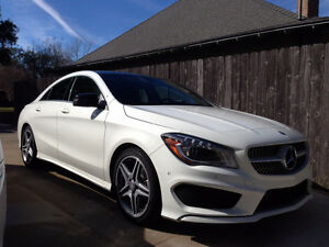 LEASE TAKEOVER - 2015 Mercedes Benz CLA 250 AMG 4matic