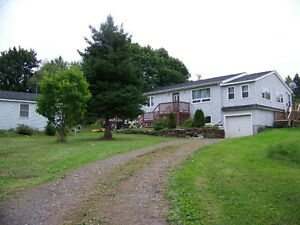 Home or cottage with deeded access to Barrachois Bay  2.7 Acres